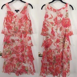 Cute ruffles dress